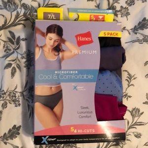 New in box Hanes high cut underwear